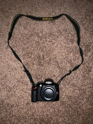 Nikon camera barely used + 2 lenses (18-55mm + 55-200mm) for Sale in Wahiawa, HI