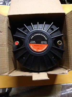 Compression Horn driver titanium for Sale in Selma, CA