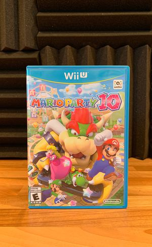 Mario Party 10 (WiiU) for Sale in West Hollywood, CA