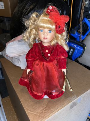 Collector's Choice Porcelain Doll for Sale in Grapevine, TX