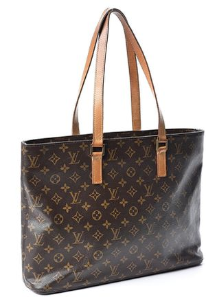 Authentic Louis Vuitton Monogram Canvas Luco Tote for Sale in Summit, NJ