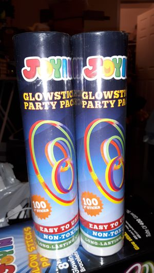 (2)Glowsticks - 100pc each for Sale in La Habra, CA