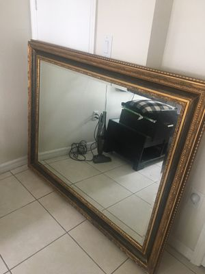 57 1/2 by 45 1/2 wall mirror for Sale in Miami, FL