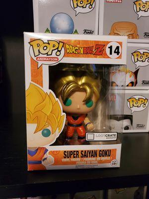 Dragon Ball Z Metallic Super Saiyan Goku Funko for Sale in North Bergen, NJ