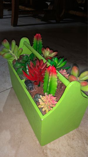 fake succulent plant for Sale in Miami, FL