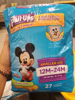 Huggies Pull Ups 27 count (12M-24M) for Sale in Phoenix, AZ