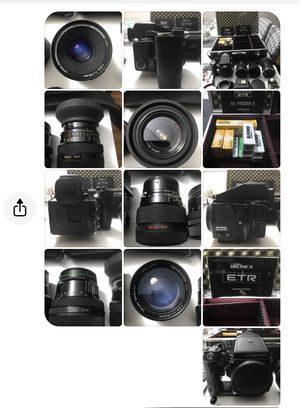 Bronica Medium Format Camera Kit for Sale in Chicago, IL