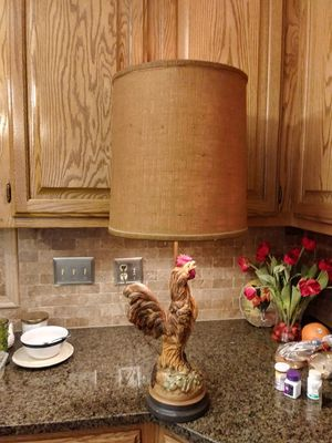 Rooster lamp for Sale in Hendersonville, TN