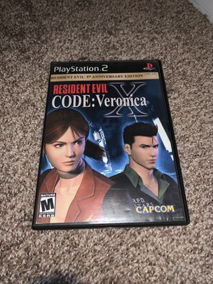 Resident Evil Code Veronica X for PS2 for Sale in Louisville, CO