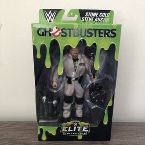 WWE Ghostbusters Stone Cold Steve Austin Elite Collection Action Figure - New! for Sale in Teaneck, NJ