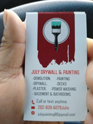DRYWALL & PAINTING for Sale in Wheaton, MD