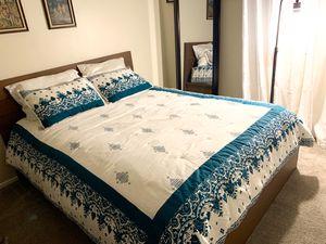 IKEA Queen Bed Frame - Mattress Includes for Sale in Phoenix, AZ