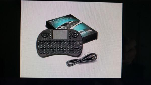 Wireless keyboard remote for android phone, Amazon fire TV/stick & USB OTG cable