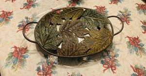 Leaf plate Decore for Sale in Westport, MA