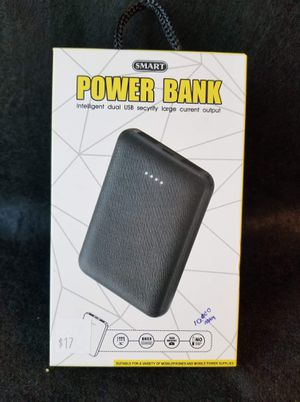 New USB rechargeable Portable power bank charger, charge on the go never let your phone or device die for Sale in Moreno Valley, CA