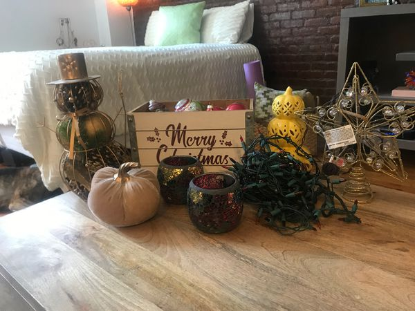 Fall and Christmas Decorations