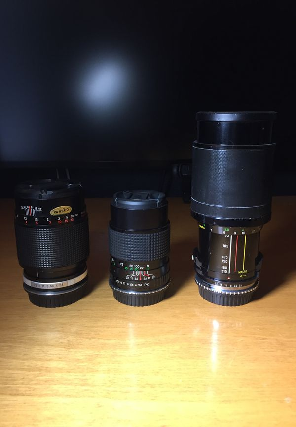 Vintage Lenses with Canon EF Adaptors