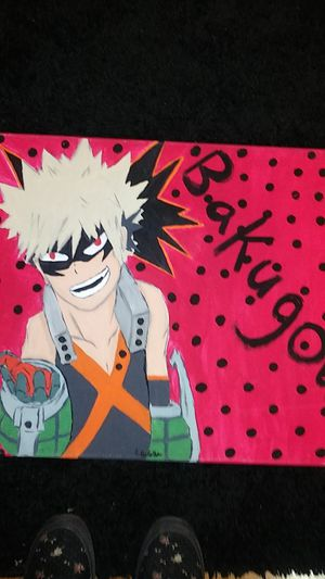 Anime bakugou ( painting) for Sale in Chicago, IL