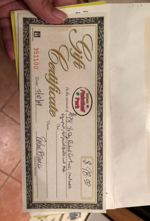 Paintball gift certificate for Sale in Antioch, CA
