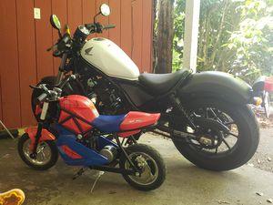 2017 Honda Rebel + Kids electric bike for Sale in Tumwater, WA