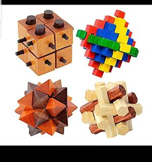 DIY 3D Wooden Puzzle Toys for Sale in Barstow, CA