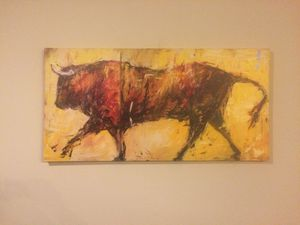 Bull painting for Sale in Austin, TX