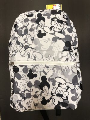 NEW! Disney Mickey Mouse Backpack School Bag shoulder bag Travel Bag Shoulder bag book bag kids bag Disneyland for Sale in Carson, CA