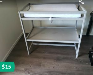 Baby changing table for Sale in Escondido, CA