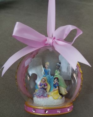 Disney Parks Hand Blown Glass Princess Ornament for Sale in Spring Valley, CA