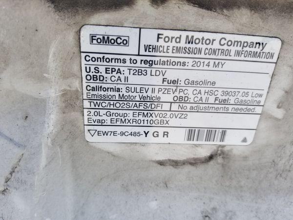 2011 to 2014 Ford Focus sedan & Hatchback Hood, Radiador Support