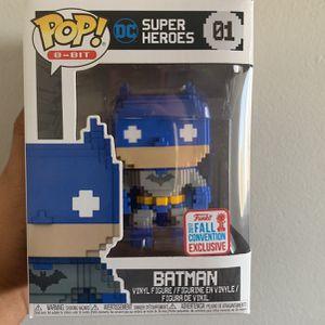 Funko Pop Batman 8-Bit 2017 Fall Convention Exclusive for Sale in Artesia, CA