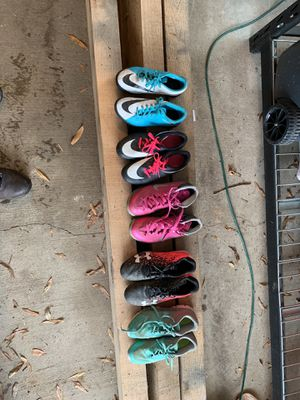 Assorted Kids Shoes and Cleats for Sale in Fairfax, VA