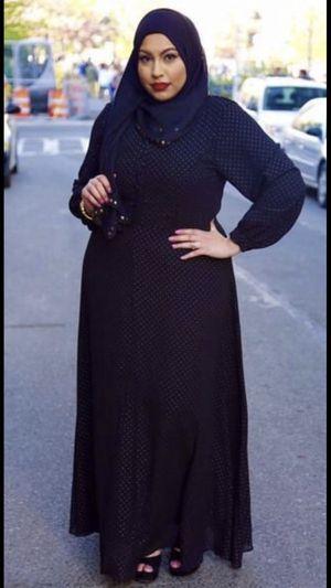 Black dress/abaya 👗 for Eid 🕌! for Sale in Annandale, VA
