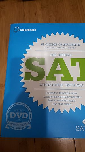 The Official SAT Study Guide with DVD for Sale in Ontario, CA