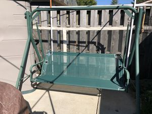Porch swing with top cover for Sale in Streamwood, IL