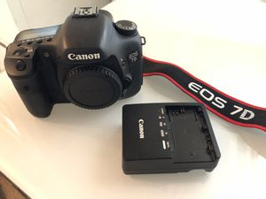 Canon 7d camera for Sale in Gilbert, AZ