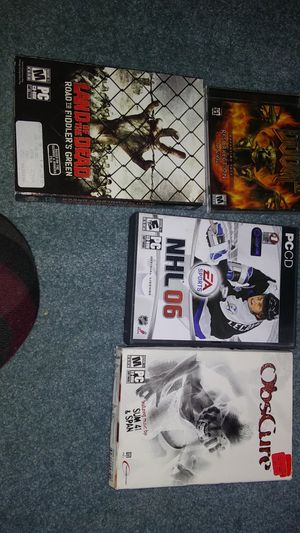4 random computer games for Sale in Milpitas, CA