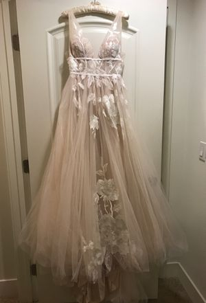 BHLDN Blush Wedding Dress for Sale in Pasadena, CA