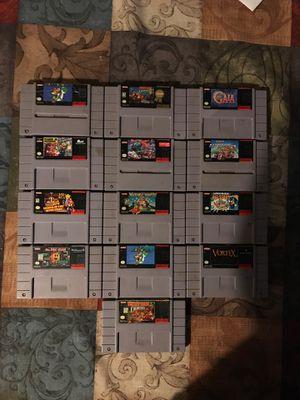 Super Nintendo games for Sale in Moreno Valley, CA