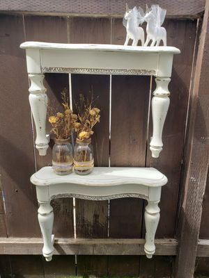 Repurposed White Hanging Wall Shelves for Sale in San Diego, CA