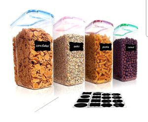 Cereal Storage Container Set for Sale in Arlington, TX