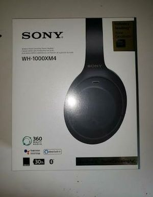 NIB SONY WH-1000XM4 NOSE CANCELLING HEADPHONES for Sale in Vienna, VA