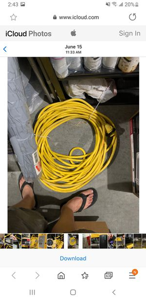 100' 30A power cord for Sale in Tacoma, WA
