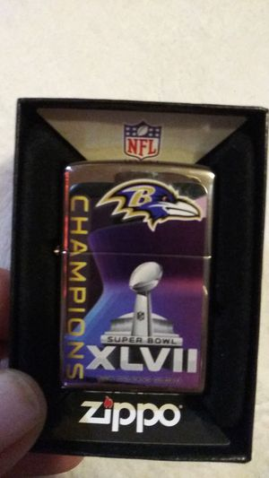 SuperBowl Champions Zippo for Sale in Baltimore, MD