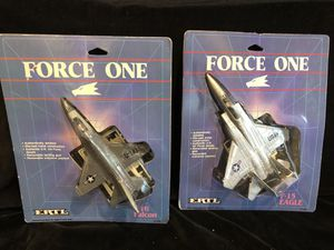Ertl diecast Force One USAF F-15 & F-16 aircraft for Sale for sale  Graham, WA