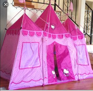 Kids hello kitty princess tent for Sale in Winter Springs, FL