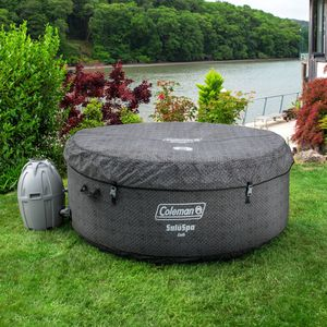 """Coleman 71"""" x 26"""" Cali Airjet Saluspa Inflatable Hot Tub w/ EnergySense Liner, 2-4 Person for Sale in Ontario, CA"""