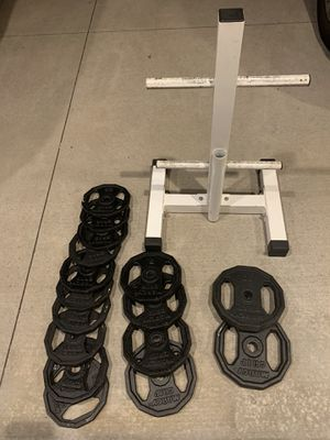 Weights and Rack for Sale in Plymouth, MN