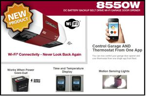 Garage Door Opener (Motor) - Lift Master 8550 WB, the best on the market! for Sale in Upland, CA