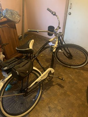 "26"" Schwinn cruiser and GT mountain bike . Both ride well the GT could probably use a gear tune up but other than that good bikes! for Sale in Allen Park, MI"